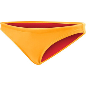 TYR Solid Mini Slip del bikini Mujer, fluo orange